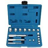 8milelake 17Pc Aluminium Wheel Bearing Race & Seal Bush Driver Set Garage Tool Kit w/Case