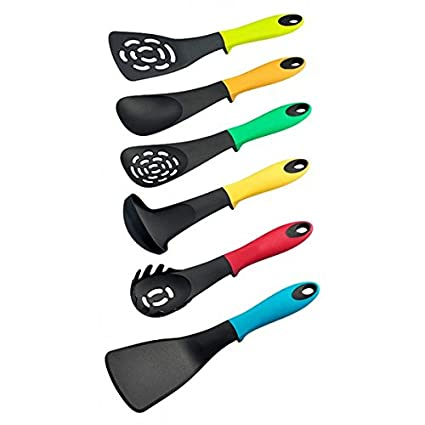 Set 6 pezzi utensili da cucina gli indispensabili RL-NU6 dal design ...