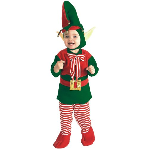 Toddler Elf Costume Size 2-4T (Thing 2 Costume Toddler)