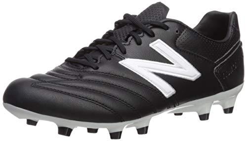 (New Balance Men's 442 Pro V1 Classic Soccer Shoe, Black/White, 9.5 D US)