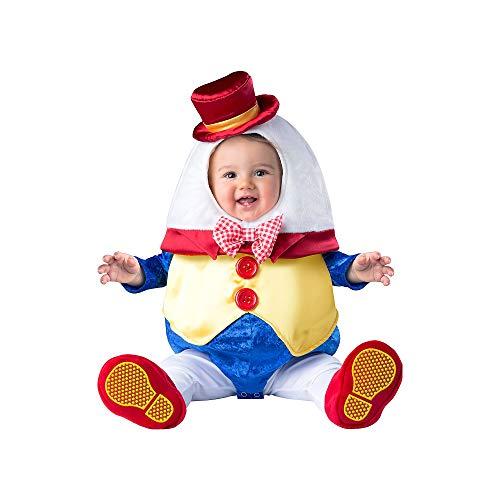 Fun World Kids' Toddler Humpty Dumpty Small, Multi, S