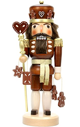 (Alexander Taron Importer 32-328 Christian Ulbricht Nutcracker - Gingerbread King (Natural) - 15