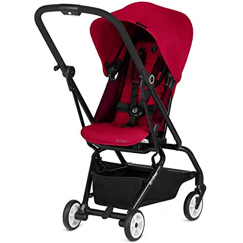 CYBEX Eezy S Twist Stroller, SCF – Racing Red