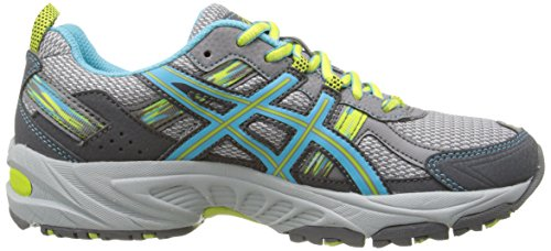 ASICS Women's Gel-Venture 5 Running Shoe, Silver Grey/Turquoise/Lime Punch, 6 M US by ASICS (Image #7)
