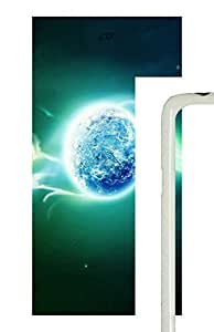 Samsung Galaxy S5 The Psychedelic Of 3D Earth PC Custom Samsung Galaxy S5 Case Cover White