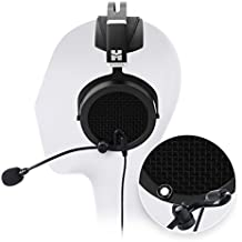 HIFIMAN SUNDARA Over Ear Open Back Planar Magnetic Headphones -INCLUDES- Antlion Audio ModMic 5 Attachable Boom Microphone AND Blucoil Premium 3.5mm Y Splitter Cable (Male-to-Female)