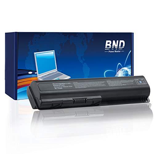 - BND 7800mAh Battery for HP Pavilion DV4-1000 DV4-2000 DV5-1000 DV6-1000 DV6-2000 CQ50 CQ60 CQ70 G50 G60 G60T G61 G70 G71 Series, Fits 484170-001 EV06 KS524AA KS526AA HSTNN-IB72
