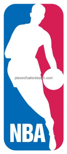 1/4 Sheet ~ NBA Logo Birthday ~ Edible Image Cake/Cupcake Topper!!!