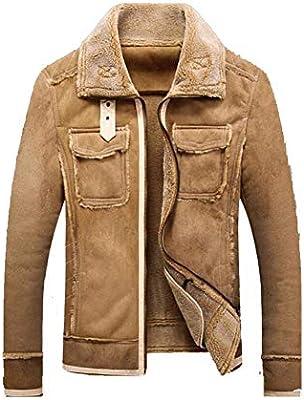 Abrigos de chaquetas para hombres, Chaquetas de aviador militar de invierno de otoño Abrigo Chaqueta de abrigo para hombre Cálido y de moda (Color: Negro, ...