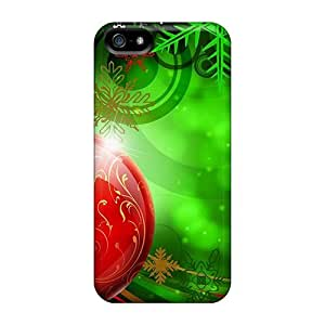 CalvinDoucet ZER45236upxf Cases Covers Iphone 5/5s Protective Cases Christmas Time