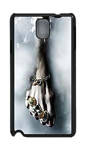 Foot Jewellery and Vadim Piskaryov Custom Samsung Galaxy Note 3 N9000 Case Cover ¨C Polycarbonate ¨CBlack