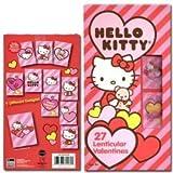 1 X Sanrio Hello Kitty 27 Hologram Lenticular Valentines Day Cards