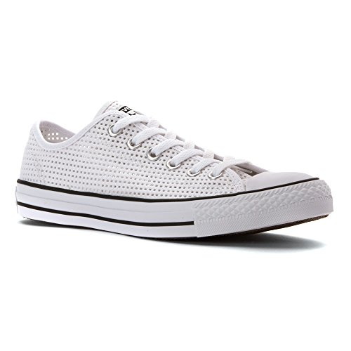 Converse Chuck Taylor Core Lea Ox, Sneaker Unisex adulto White