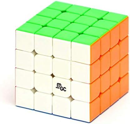 cuberspeed YJ MGC 4X4 M stickerless Speed Cube MGC Magnetic 4X4X4 Magic Cube Puzzle