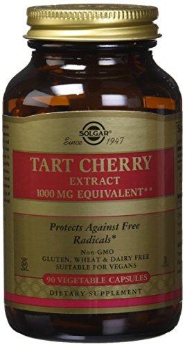 Solgar -Tart Cherry 1000 Mg, 90 Vegetable Capsules – 2 Pack Review