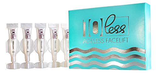 Anti Aging 10 Less Ageless Facelift -Look 10 Years Younger in 5 Minutes-Hyaluronic Acid And Stem Cells- Instantly Cream Under Eye Bags Treatment, Dark Circles, Wrinkles, Puffiness.
