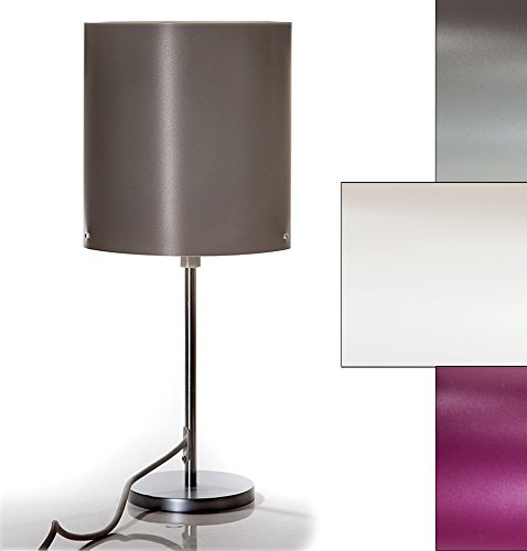 Hochwertige Tischlampe (Creme), Stehlampe, IP44 für Innen & Außen, Balkon & Terrasse, Badezimmer & Sauna, oder einfach als schönes Wohnaccessoire!!Ca. 52 cm Höhe, Ø 24 cm. Tischleuchte, Standleuchte, Stehlampe (Creme)