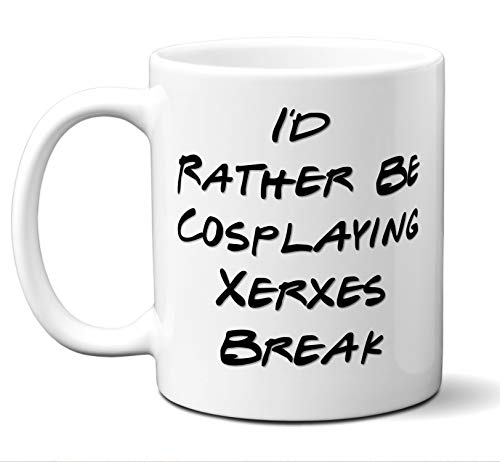 Funny Xerxes Break Rather Be Cosplaying Costume Lover Mug, Coffee, Tea Cup. Ideal Novelty Gift for Pandora Hearts Fans Manga, Otaku, Japan, Naruto, Japanese Anime Lovers. 11 oz.]()