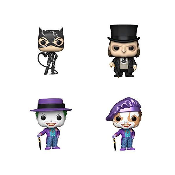 41zSkagXbeL Funko Heroes: POP! Batman Collectors Set 2 - Batman Returns Catwoman, Batman Returns Penguin, 1989 Joker with hat - 3…