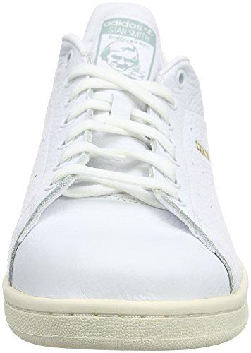 adidas Originals Stan Smith Herren Trekking- & Wanderhalbschuhe Weiß (Ftwbla / Ftwbla / Vertac)
