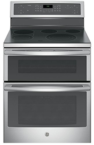 GE PB960SJSS Electric Smoothtop Double Oven Range ()