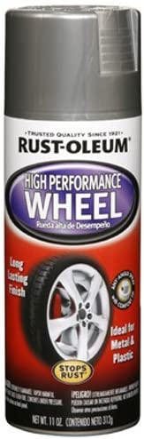 Rust-Oleum 248927 Automotive High Performance Wheel Spray Paint