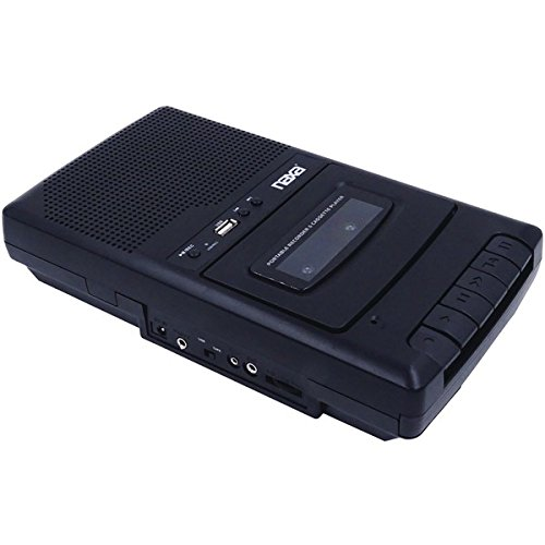 NAXA Electronics NPB-300 Portable Cassette Recorder and Digital - Remakes Old Of Songs