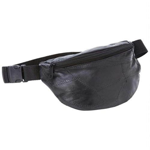 Embassy Italian Stone Design Genuine Leather Waist Bag