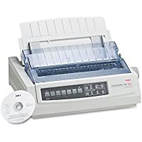 OKI62411901 - Microline 390 24-Pin Dot Matrix Turbo Printer