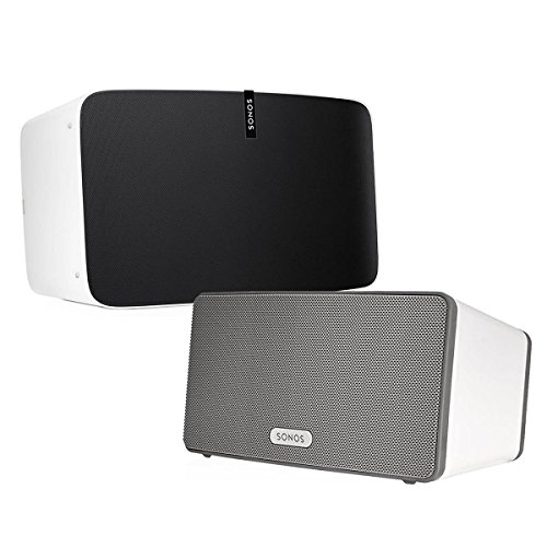 Sonos Multi-Room Digital Music System Bundle (PLAY:3 & PLAY:5) – White
