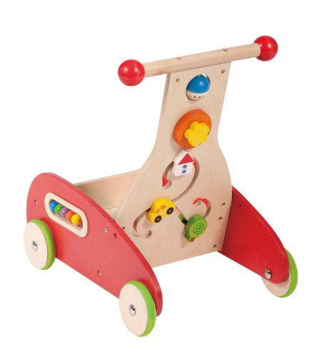 Hape Wonder Walker Push and Pull Toddler Walking Toy by Educo