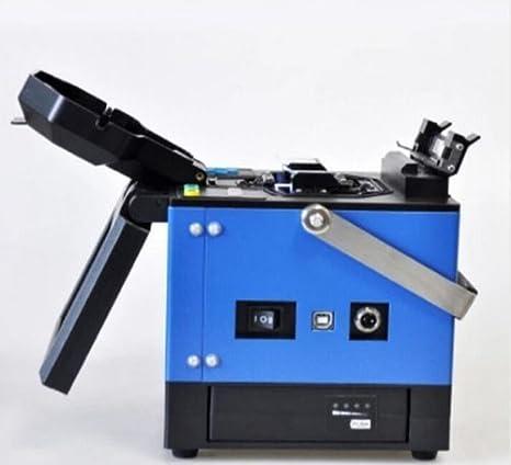 FTTH fibra óptica empalme máquina de fibra óptica Fusion Splicer: Amazon.es: Bricolaje y herramientas