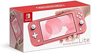 Amazon Com Nintendo Switch Lite Coral Switch Electronics