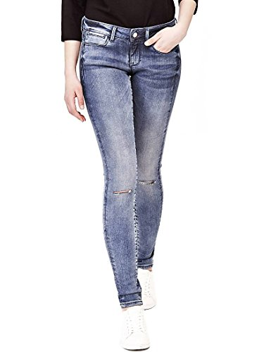 Jeans Slim Jegging Guess Mujer Vaqueros Para qncCxWFR