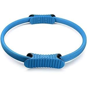 Dual Grip Pilates Ring - Pilates Magic Circle Ring - Light Blue - ²SPD2Z