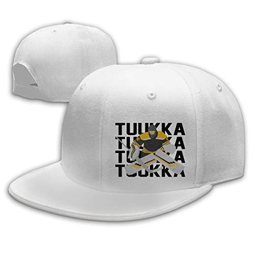 Moore Me Adjustable Baseball Cap Gold Boston Tuukka Text Pic Cool Snapback Hats ()