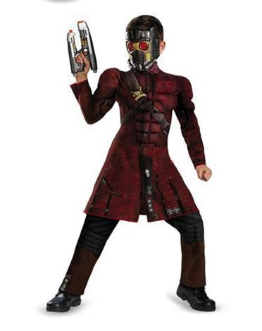 Marvel Guardians of the Galaxy Star Lord Muscle Costume 4 - 6x