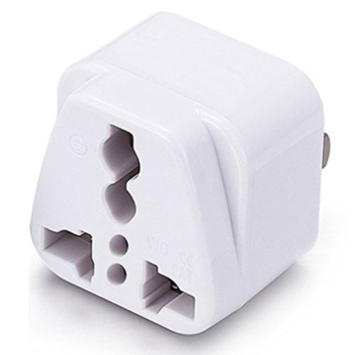 (ICEVEIN Universal Power Travel Plug Adapter Converting from EU/UK/CN/AU/JP to USA)
