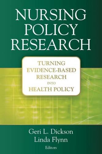 Buy nursing policy research