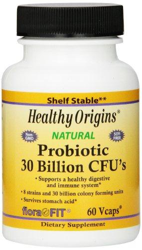 Healthy Origins Probiotic 30 milliards de Longue Conservation multivitamines de CU, 60 comte