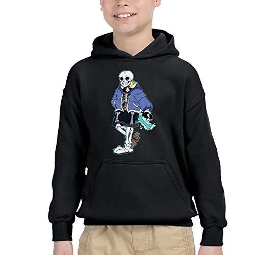 (Chen Yun Undertale Game Sans Skeleton Boys' Pullover Hoodies Cotton Hooded)