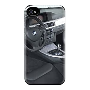 New Arrival Premium 4/4s Case Cover For Iphone (hamann Bmw 3 Series Thunder Interior)