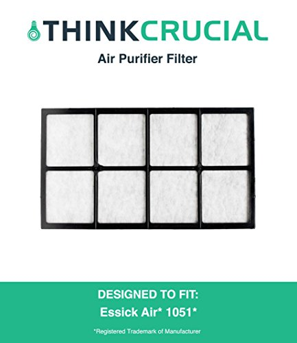 Think Crucial Replacement for Essick Air 1051 Air Filter, Fits with 4DTS 300, 4DTS 900, H12 300HB, H12 400HB, H12 600, 696400HB, 696800 & 447400HB, Compatible with Part # 1051