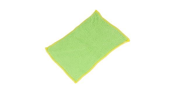 Amazon.com: eDealMax fibra de bambú cocina Bowl Pot paño de la Colada limpia de toallas 2 pcs Verde: Health & Personal Care