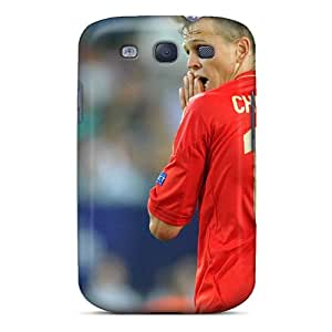 Tpu Case Cover For Galaxy S3 Strong Protect Case - Denis Cheryshev Player Of Team Russia Design
