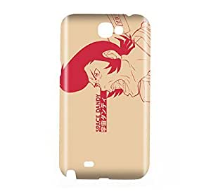 Space Dandy Snap on Plastic Case Cover Compatible with Samsung Galaxy Note II 2Kimberly Kurzendoerfer
