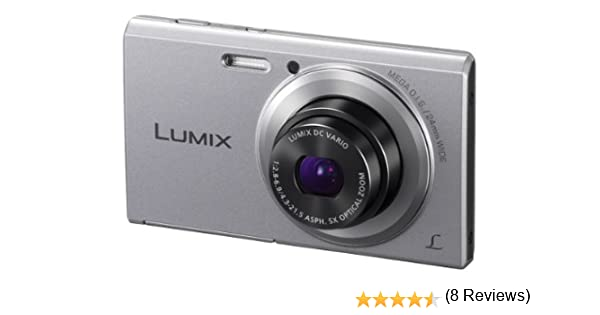 Panasonic DMC-FS50EG-S - Cámara réflex digital de 16 Mp (zoom ...