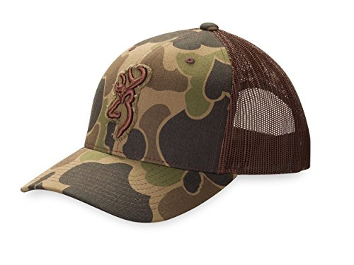 Browning Flashback Mesh Bubble Cap, Camo
