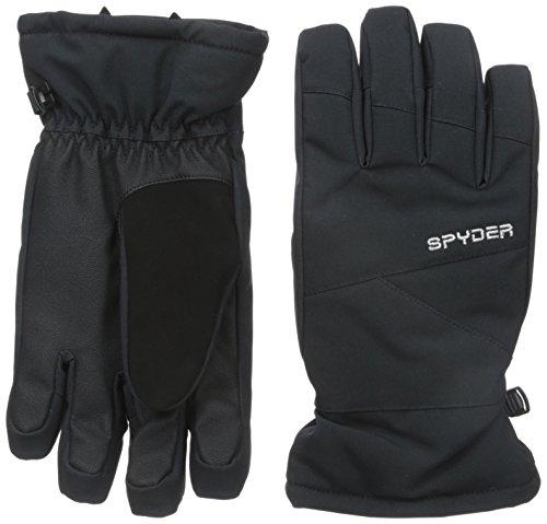 Spyder Kids Glove - Spyder Girls Astrid Gloves, Large, Black