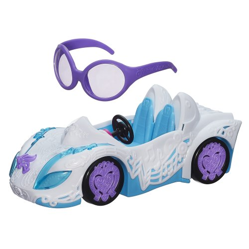 My Little Pony Equestria Girls DJ PON-3 Rockin Convertible Vehicle (My Little Pony Dj Pon 3 Doll)
